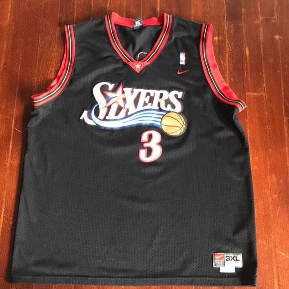 Nike Camisetas Nba Philadelphia Poshmark 76Ers Allen Iverson Jersey Poshmark Philadelphia 6e6db0